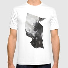 Wrinkled dreams Mens Fitted Tee White MEDIUM
