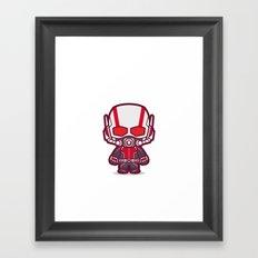 Insect Man Framed Art Print