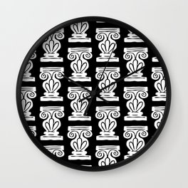 Pillar Pattern 2 Wall Clock