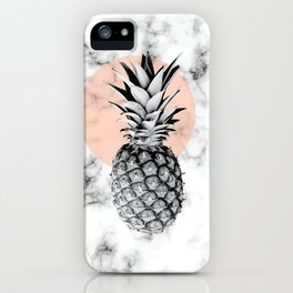 Marble Pineapple 053 iPhone Case