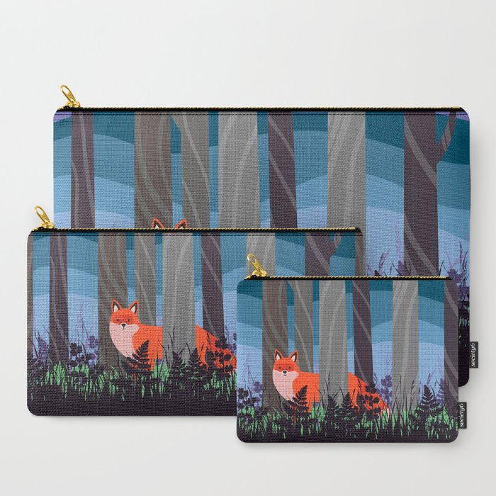 Magical Woodland (St. Norbert) Carry-All Pouch