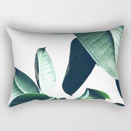 Ficus Elastica #26 #foliage #decor #art #society6 Rectangular Pillow