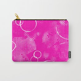 Texture #26 in Hot Pink Carry-All Pouch