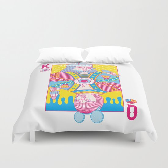 King Of Nothing, Queen Of Nowhere Duvet Cover