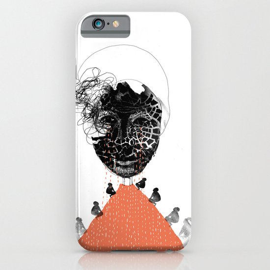 Moonrise mountain (mother earth cries) iPhone & iPod Case