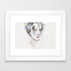 love and sacrifice Framed Art Print