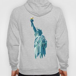 Statue of liberty low-poly Hoody
