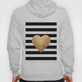 GOLD HEART PRINT, Heart Print,Heart Sign,Heart Decor,Gold Print,Gold Foil,Love Word,Love Quote,Love Hoody
