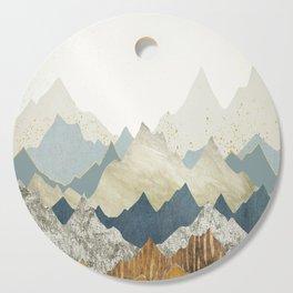 Distant Peaks Cutting Board