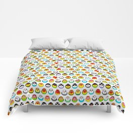 Lovebird colour mutations Comforters