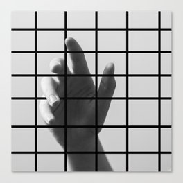 Caged Hand 1 Canvas Print