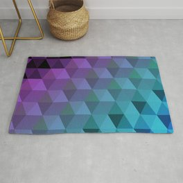 Flight of the Triangles Rug