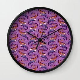 Sirenas - Lilac - Beautiful Bones Wall Clock