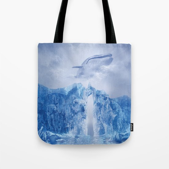 white landscape 1 Tote Bag