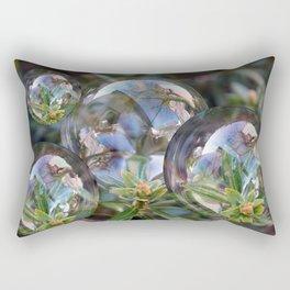 Flower bubbles Rectangular Pillow