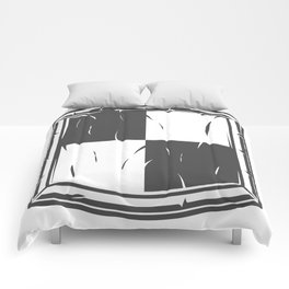 Medieval shield of knight crusader Comforters
