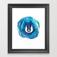 Star Wars Jedi Watercolor Framed Art Print