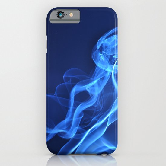smoky blue iPhone & iPod Case