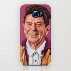 Hipstory - Ronald Reagan Galaxy S6 Slim Case