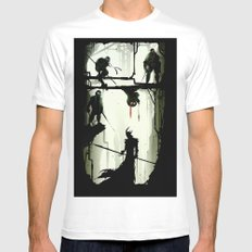 The Last Stand White MEDIUM Mens Fitted Tee