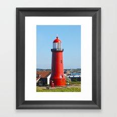 Newcastle Lighthouse  Framed Art Print