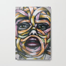 Art Piece by Amine Goma Metal Print