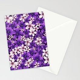 Ultra Violet Spring Stationery Cards