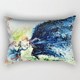 """In the air"" Rectangular Pillow"
