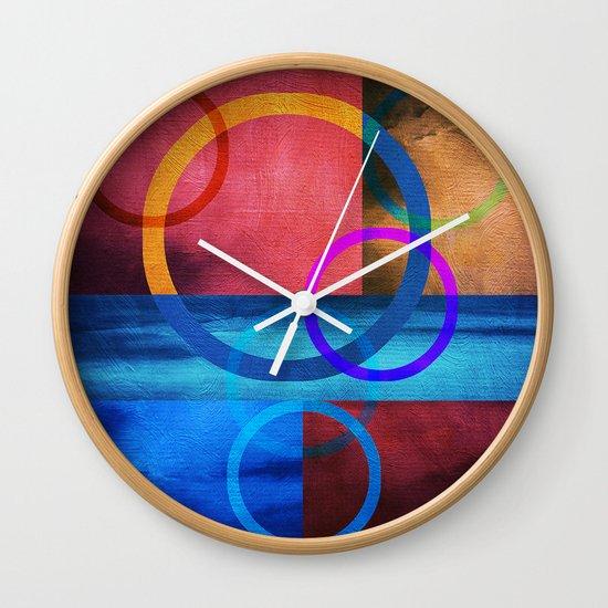 Textures/Abstract 91 Wall Clock