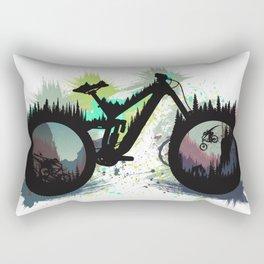 Wicked Bike Rectangular Pillow