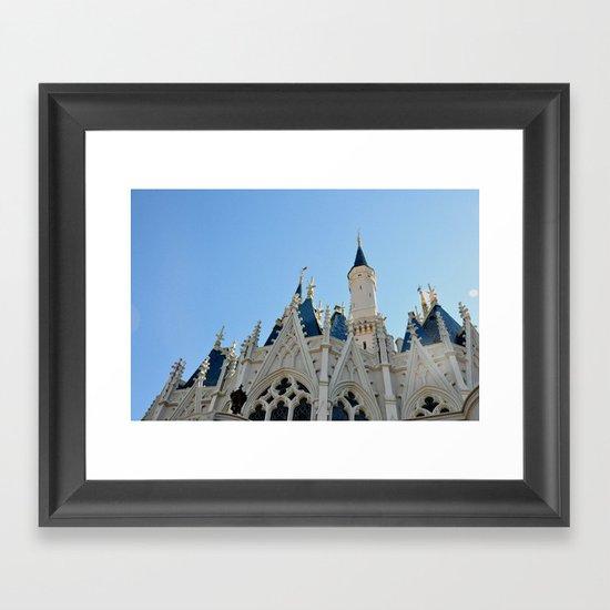 Cinderella's Castle I Framed Art Print