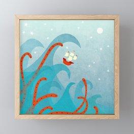 A Bad Day for Sailors Framed Mini Art Print