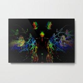 Technofly Metal Print
