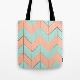 Marble Geometry 059 Tote Bag