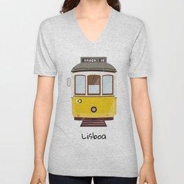 Lisbon Unisex V-Neck