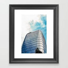 Big Building Framed Art Print