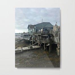 """Rocky Neck Inner Harbor"" Photography Metal Print"