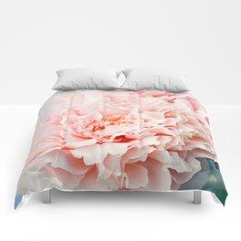 Peony Flower Photography, Pink Peony Floral Art Print Nursery Decor A Happy Life  - Peonies 1 Comforters