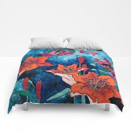 Blooming Night Garden: Twilight Comforters
