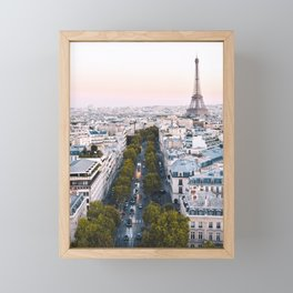 Paris City Framed Mini Art Print
