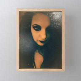 Vampire Framed Mini Art Print