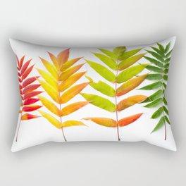 Rainbow Sumac for Autumn in Canada Rectangular Pillow