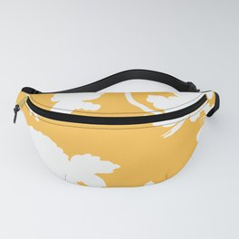 Chinoiserie Silhouette Golden Yellow Fanny Pack