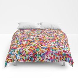Rainbow Sprinkles Comforters