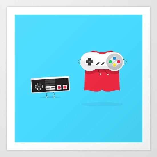 Let's Be Super Together Art Print