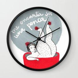 Me encanta ser una penca Wall Clock
