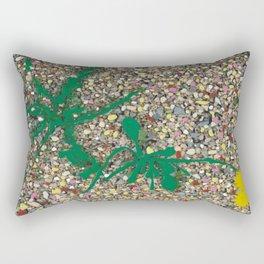 Taraxacum Officinale Rectangular Pillow