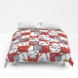 Kitchen Tools Check Comforters