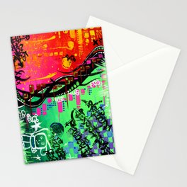 """""""ACTION EXPRESSES PRIORITIES"""" Stationery Cards"""