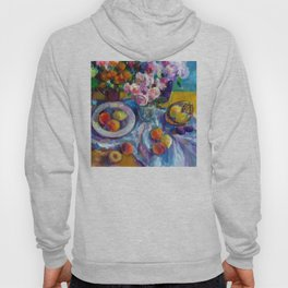 Still Life with Fruits and Flowers Hoody